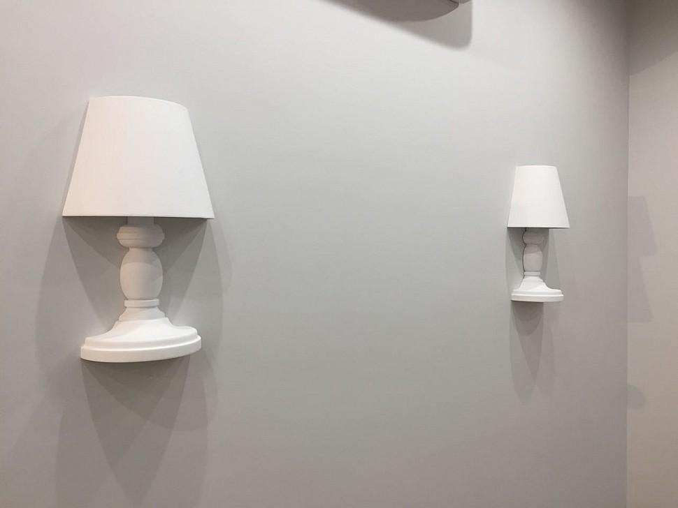 Гипсовые настенные светильники