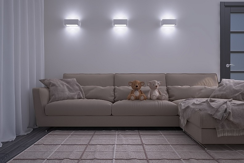 Гипсовые светильники бра на стену