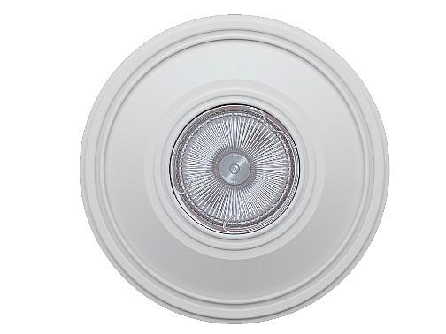 Гипсовый встраивамеый светильник