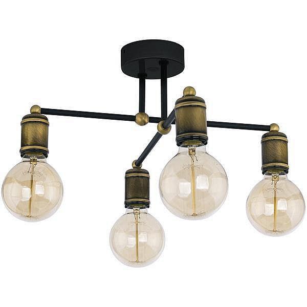 Люстра лофт 4 лампы