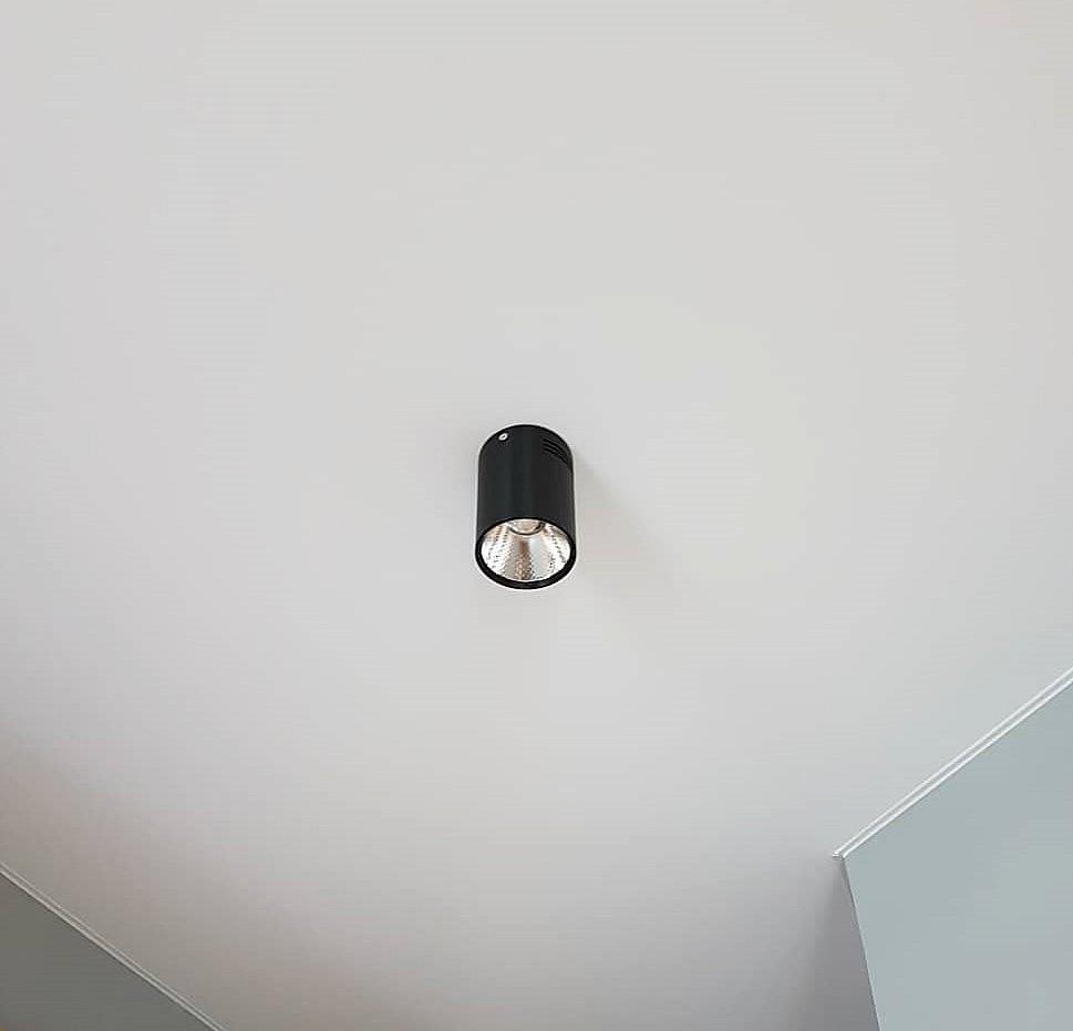 Черный потолочный светильник Lightstar