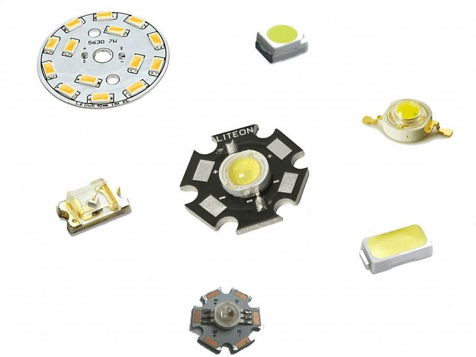 Светодиоды для потолочной люстры