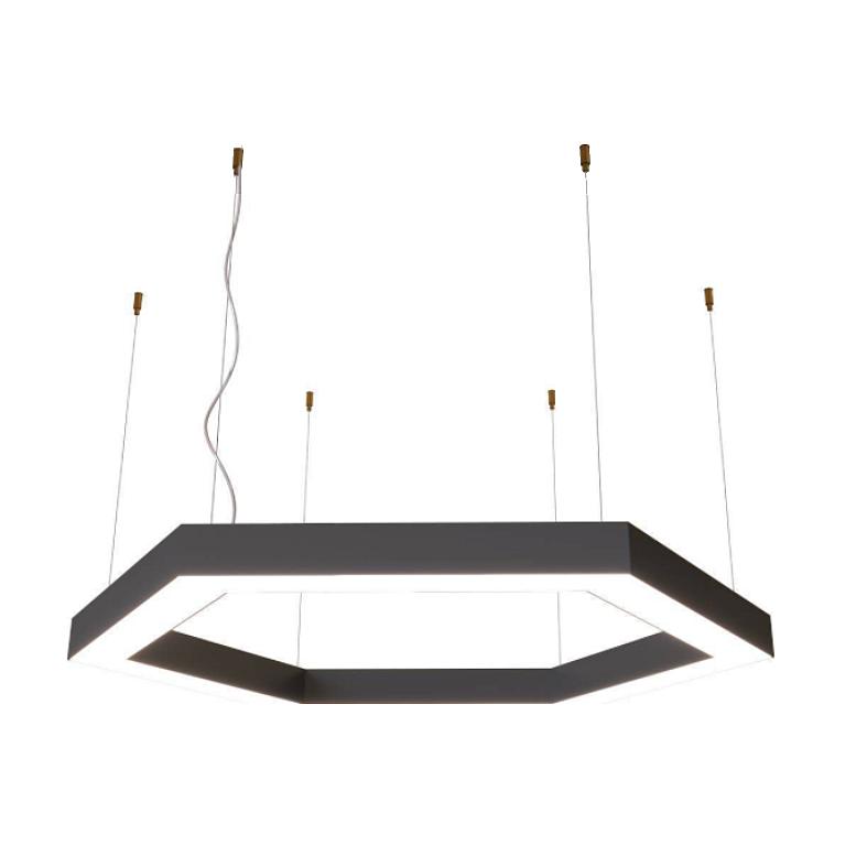 Шестиугольный светодиодный светильник Гекса для офиса