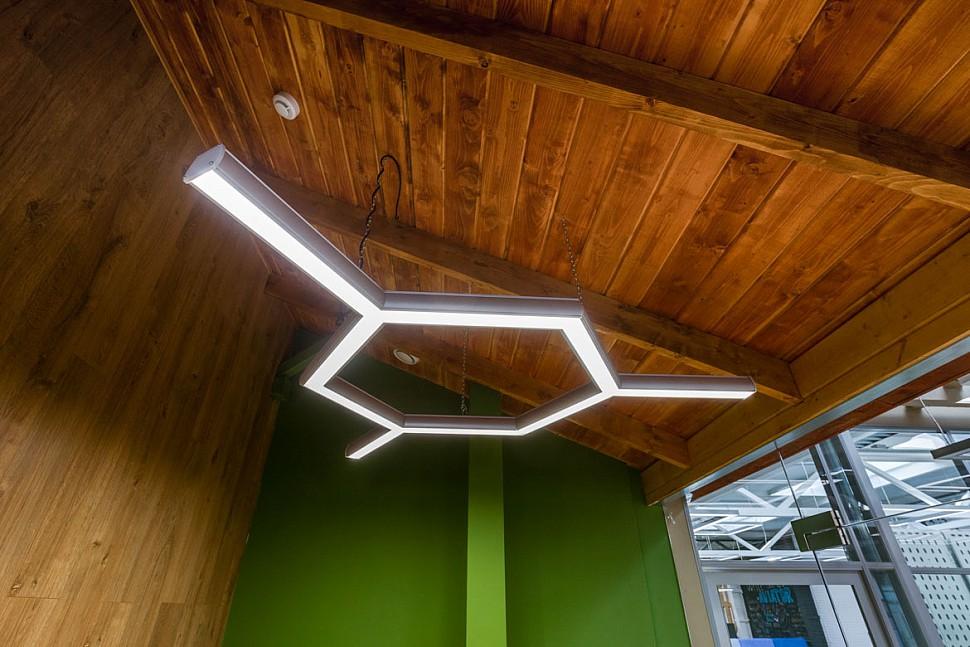 Светодиодный многоульный светильник