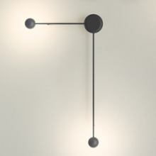 Vibia · Pin Wall Light Black · 1694