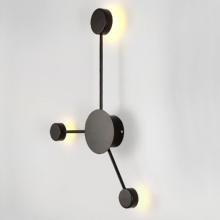 Vibia · Pin Wall Light Black · 3